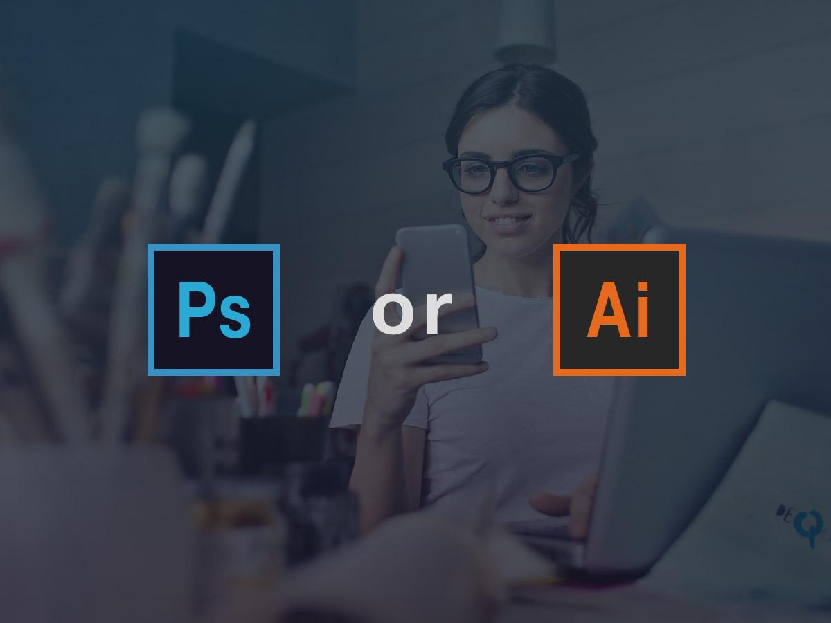 WEBデザインはPhotoshopとillustratorどっちを使う?具体例で解説