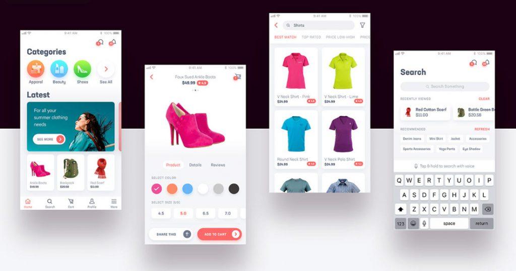 E-Comm Free UI Kit