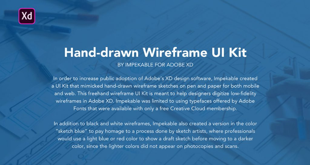Hand-drawn Wireframe UI Kit
