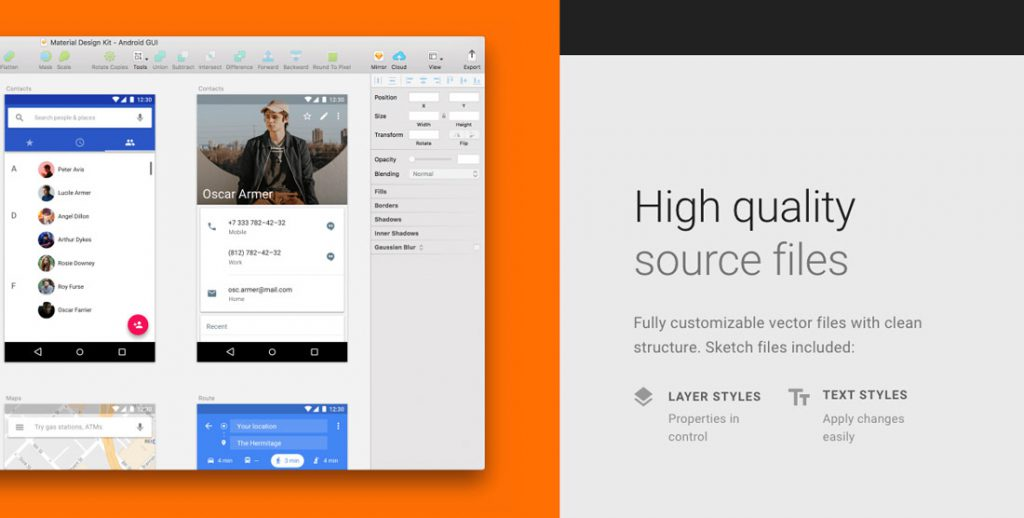 Material Design Kit(android)